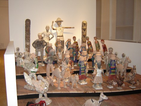 Nek Chand made two large donations of his sculptures to the Collection De Stadshof Foundation.