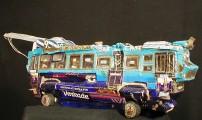 Trolleybus blauw (Geitenkamp)