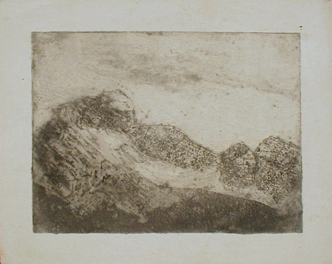 Jonkers, Bertus; Untitled, n.d., etching, SH11485