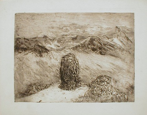 Jonkers, Bertus; Untitled, n.d., etching, SH11489
