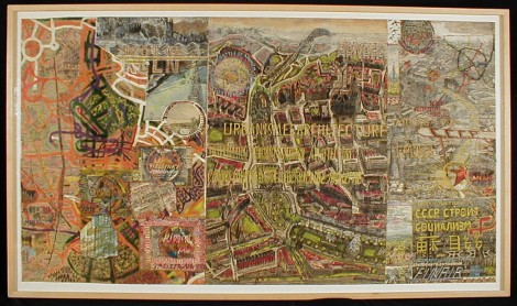 Van Genk, Willem; Urbanisme et architecture, n.d., mixed media, 95x170 cm, SH10845