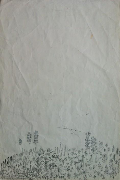 Ruysink, Willy; Zonder titel, z.d., potlood, 56x37,5cm