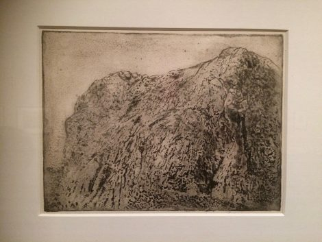 Jonkers' etching in the Rembrandthuis show