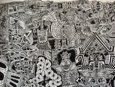 Nadau, J.P.; Untitled, details